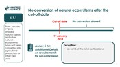 6.1 Forests, other natural ecosystems and protected areas